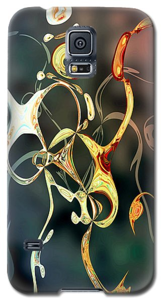 Galaxy S5 Case featuring the digital art Dance Like Nobody's Watching by Ginny Schmidt