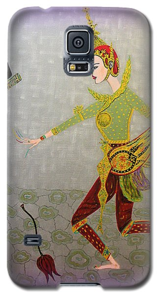 Dance Of A Nymph Galaxy S5 Case by Marie Schwarzer