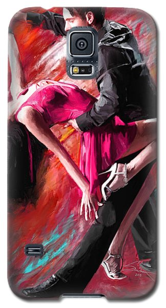 Dance Of Fire Galaxy S5 Case by Robert Smith