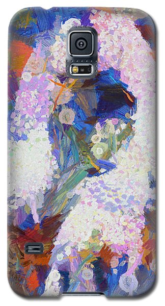Galaxy S5 Case featuring the painting Dance Of Fools by Joe Misrasi