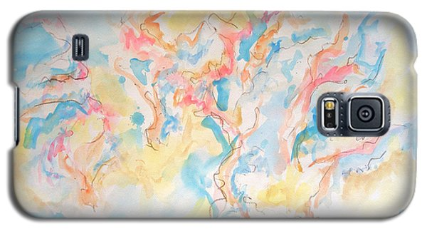 Galaxy S5 Case featuring the painting Dance Of Olive Trees by Esther Newman-Cohen
