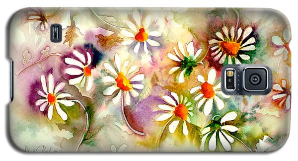 Dance Of The Daisies Galaxy S5 Case by Neela Pushparaj