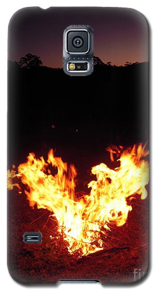 Galaxy S5 Case featuring the photograph Fire In Your Heart by Ankya Klay