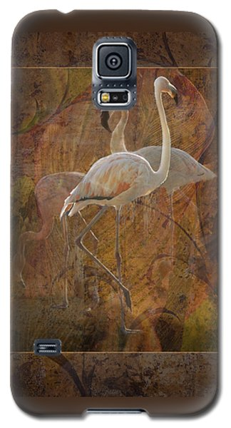 Dance Of The Flamingos Galaxy S5 Case