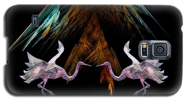 Dance Of The Paper Cranes Galaxy S5 Case by Kathleen Holley