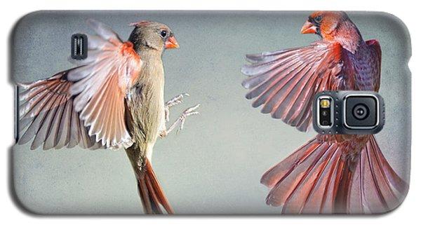 Dance Of The Redbirds Galaxy S5 Case