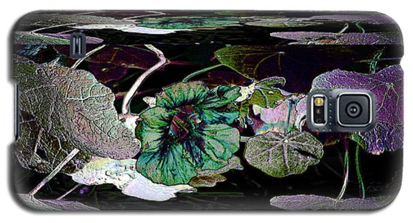 Galaxy S5 Case featuring the photograph Dance Of The Water Lilies by Irma BACKELANT GALLERIES