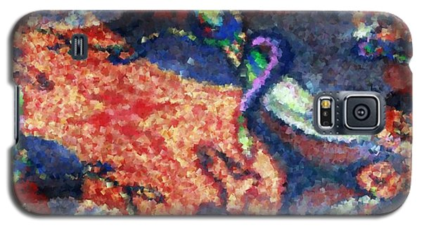 Galaxy S5 Case featuring the painting Dance With Me 2 by Ayasha Loya