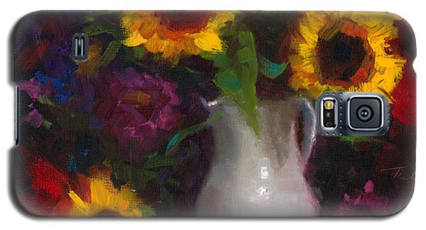 Dance With Me - Sunflower Still Life Galaxy S5 Case
