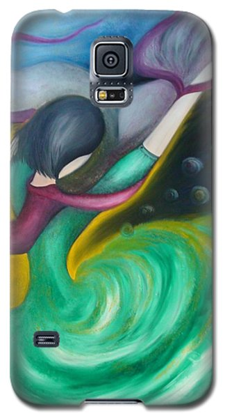 Dance With Wind Galaxy S5 Case