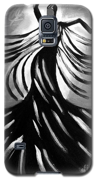 Galaxy S5 Case featuring the painting Dancer 2 by Anita Lewis