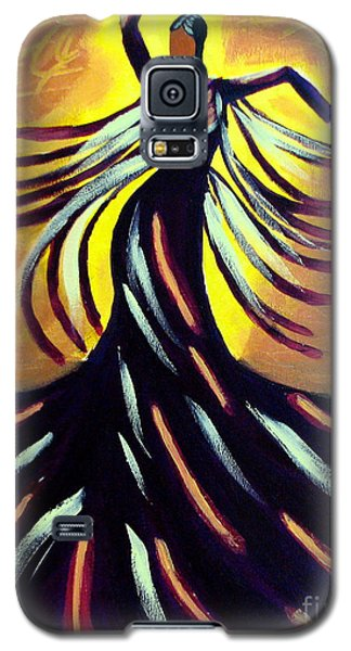 Galaxy S5 Case featuring the painting Dancer by Anita Lewis