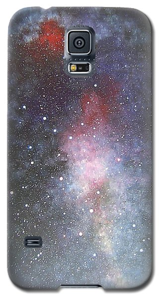 Galaxy S5 Case featuring the painting Dancer by Min Zou