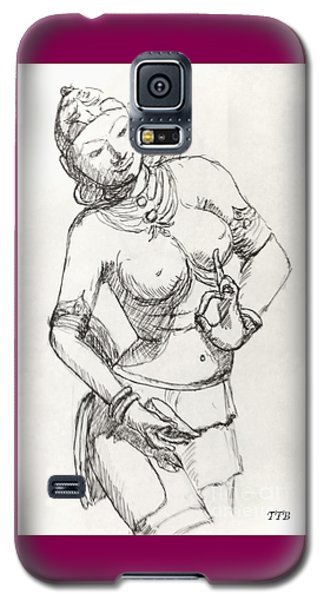 Dancer Of India Galaxy S5 Case