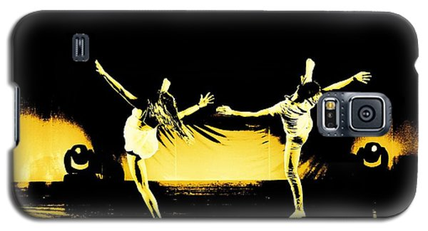Dancers 4 Galaxy S5 Case by Carrie OBrien Sibley