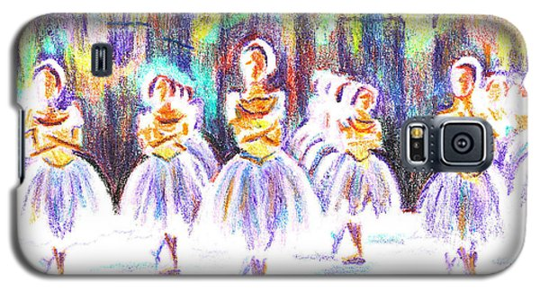 Dancers In The Forest II Galaxy S5 Case by Kip DeVore