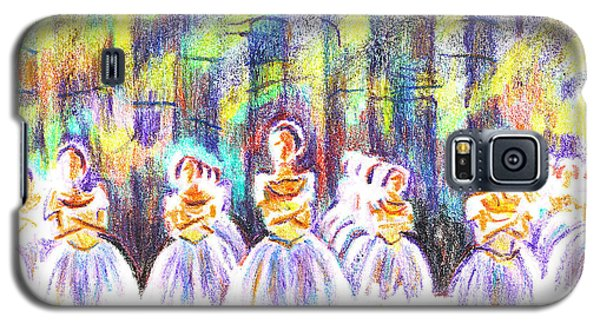 Dancers In The Forest Galaxy S5 Case