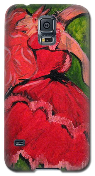 Galaxy S5 Case featuring the painting Dancing Doll by Wendy Coulson