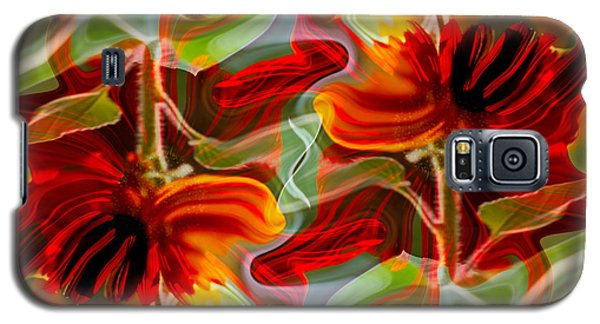 Dancing Flowers Galaxy S5 Case