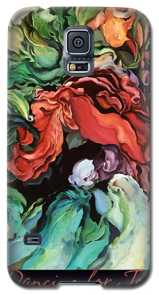 Galaxy S5 Case featuring the painting Dancing For Joy 2 by Brooks Garten Hauschild
