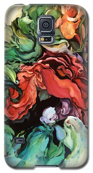 Dancing For Joy - Acrylic Painting - Original Art Galaxy S5 Case