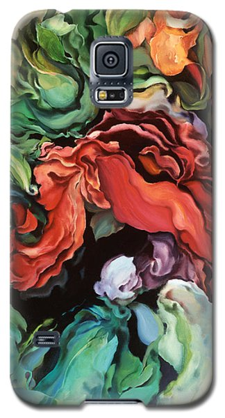 Galaxy S5 Case featuring the painting Dancing For Joy by Brooks Garten Hauschild