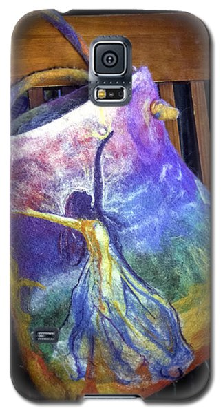 Dancing Goddess Needle Felted Bag Galaxy S5 Case
