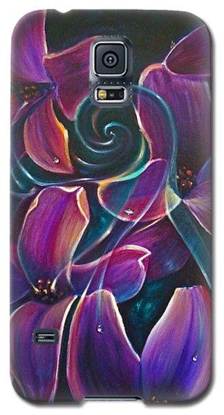 Dancing Hyacinths Galaxy S5 Case
