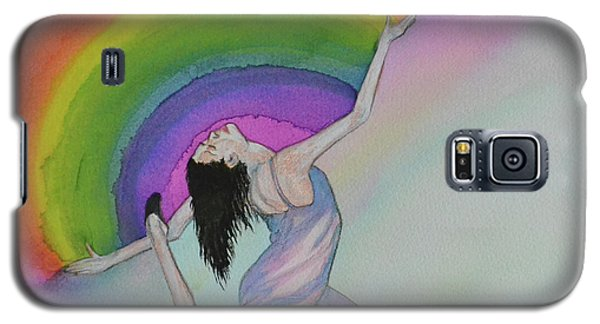 Dancing In Rainbows Galaxy S5 Case by Suzette Kallen