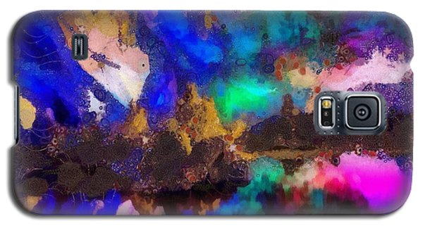 Galaxy S5 Case featuring the painting Dancing In The Moon Light by Catherine Lott