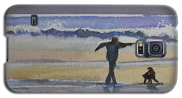 Dancing On The Beach Galaxy S5 Case
