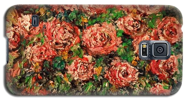 Dancing Red Roses Galaxy S5 Case