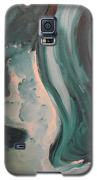 Galaxy S5 Case featuring the painting Dancing by Shea Holliman
