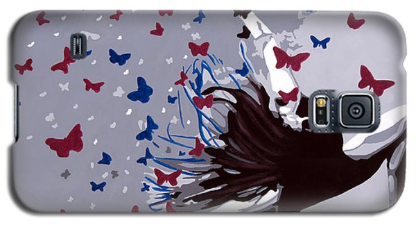 Dancing With Butterflies Galaxy S5 Case