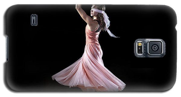 Dancing With Closed Eyes Galaxy S5 Case