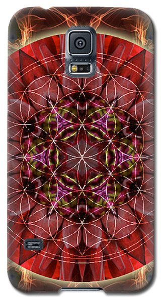 Dancing With The Solar Flares Galaxy S5 Case