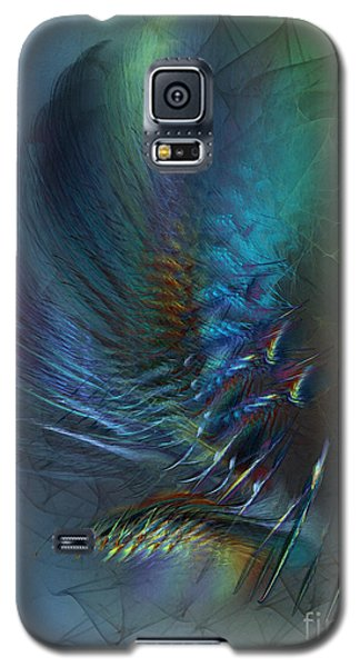 Dancing With The Wind-abstract Art Galaxy S5 Case