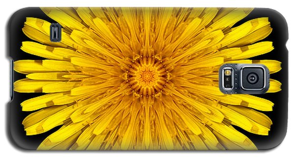 Dandelion Flower Mandala Galaxy S5 Case by David J Bookbinder
