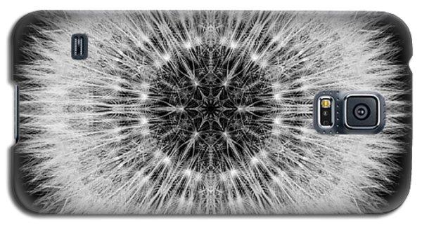 Dandelion Head Flower Mandala Galaxy S5 Case by David J Bookbinder