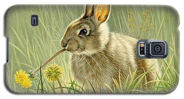 Rabbit Galaxy S5 Case - Dandi-nibbler by Paul Krapf
