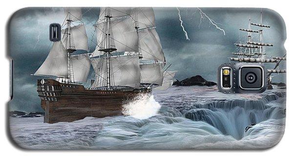 Danger Ahead Galaxy S5 Case