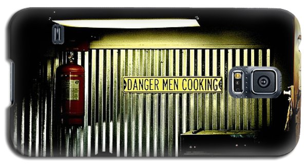 Danger Men Cooking Galaxy S5 Case