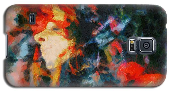 Galaxy S5 Case featuring the painting Dangerous Passion by Joe Misrasi