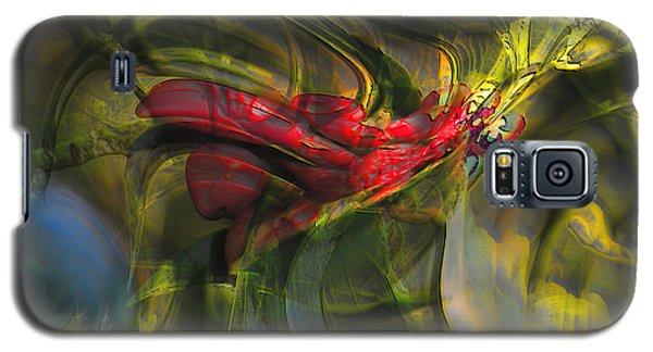 Galaxy S5 Case featuring the digital art Dangerous by Richard Thomas