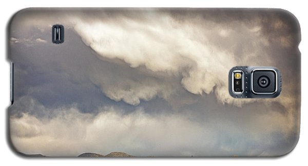 Galaxy S5 Case featuring the photograph Dangerous Sky In Santa Fe by Dave Garner