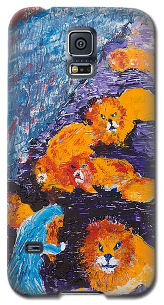 Daniel And The Lions Galaxy S5 Case