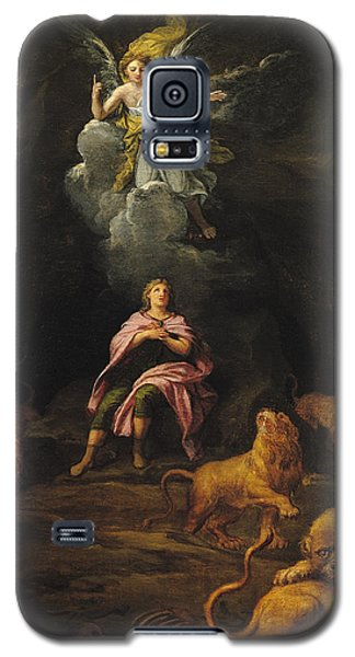 Dungeon Galaxy S5 Case - Daniel In The Den Of Lions Oil On Canvas by Francois Verdier