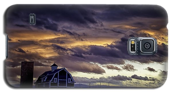 Galaxy S5 Case featuring the photograph Daniel's Foreboding Sunset by Kristal Kraft