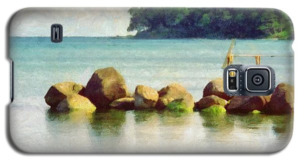 Danish Coast On The Rocks Galaxy S5 Case