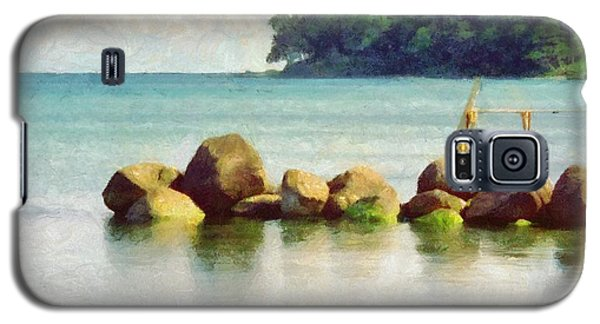 Danish Coast On The Rocks Galaxy S5 Case